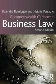 Commonwealth Caribbean Business Law by Natalie Persadie image