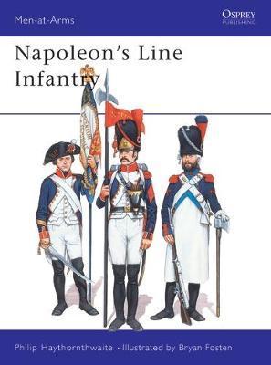 Napoleon's Line Infantry by Philip J. Haythornthwaite image