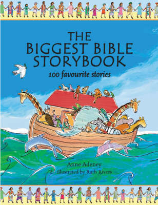 The Biggest Bible Storybook by Anne Adeney image