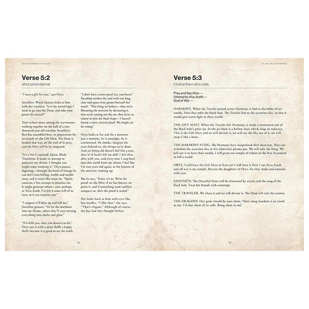 Destiny Grimoire Anthology, Vol I by Bungie image