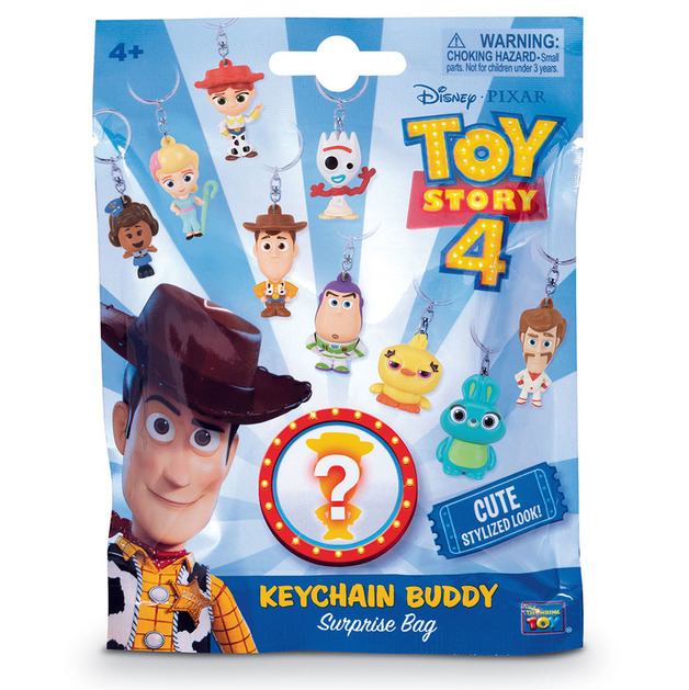 Toy Story 4: Keychain Buddies - Surprise Bag (Assorted Designs)