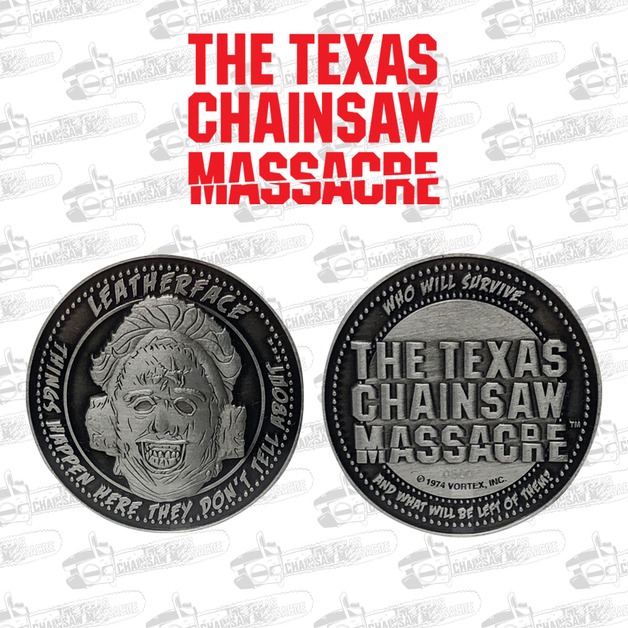 Texas Chainsaw Massacre: Collectible Coin - Silhouette