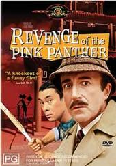Revenge Of The Pink Panther on DVD