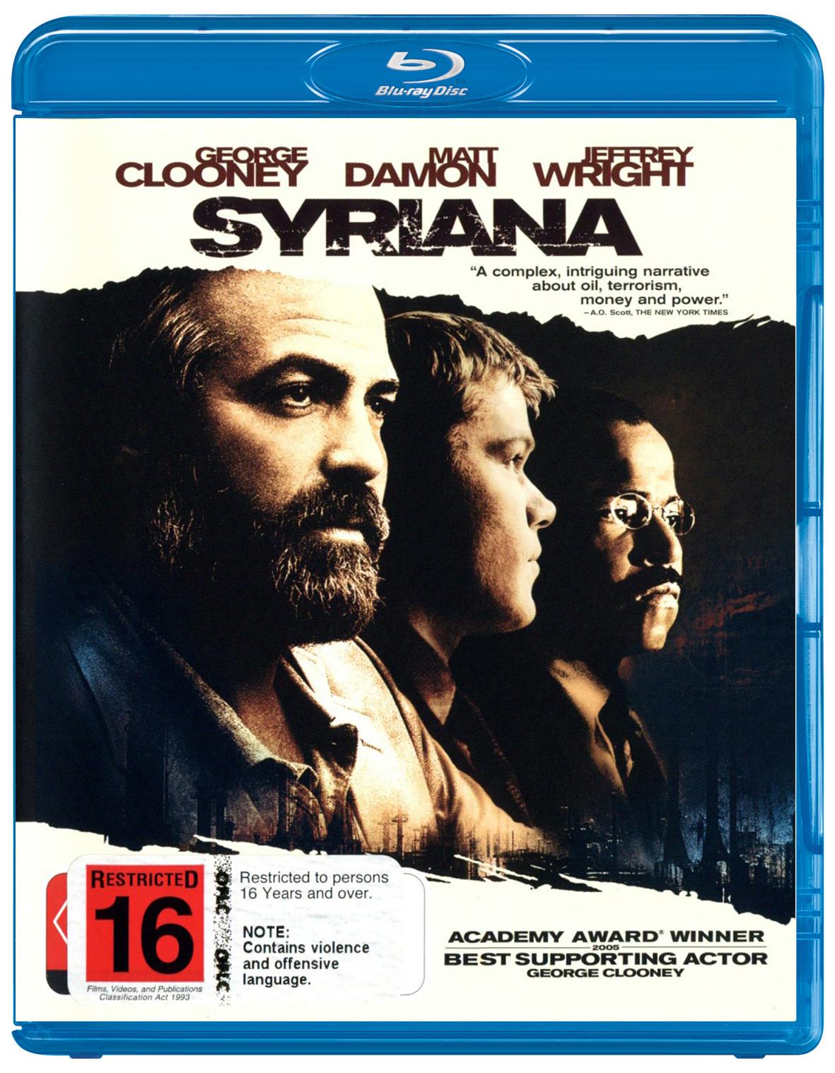 Syriana on Blu-ray image