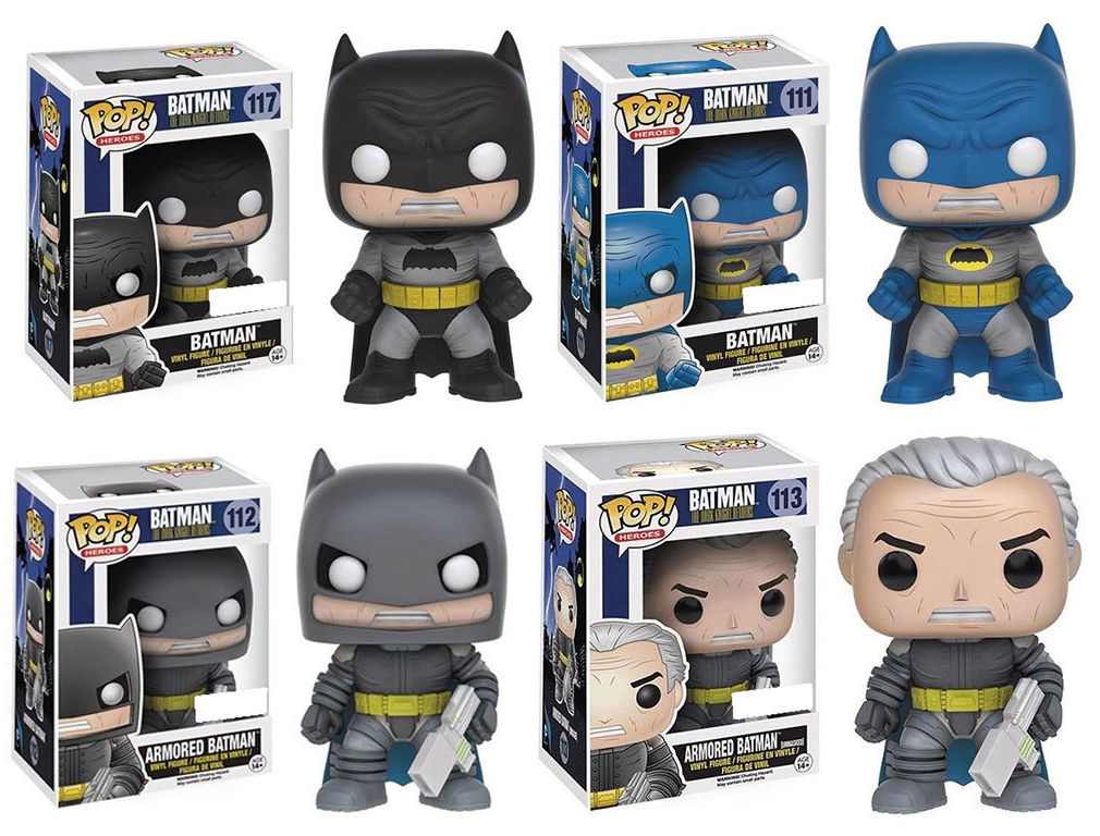 Batman The Dark Knight Returns Pop! Vinyl Bundle image