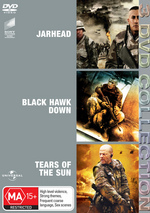 Jarhead / Black Hawk Down / Tears Of The Sun - 3 DVD Collection (3 Disc Set) on DVD