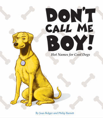 Don't Call Me Boy! by Joan Bolger
