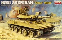 "Academy 1/35 M551 Sheridan ""Gulf War"" Model Kit"