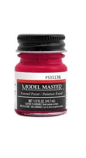 Testors: Enamel Paint - Insignia Red (Flat) image