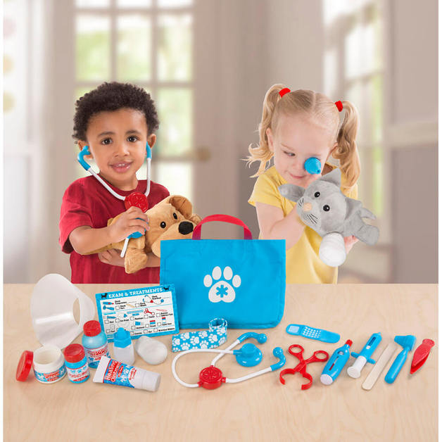 Melissa & Doug: Examine & Treat - Pet Vet Set