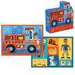 Crocodile Creek: 24-Piece Two-Sided Puzzle - Fire Truck