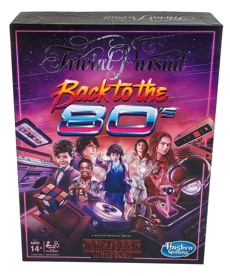 Stranger Things: Trivial Pursuit - Back to The 80s Edition image