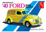 AMT Gene Winfield 1940 Ford Sedan Delivery 1/25 Model Kit