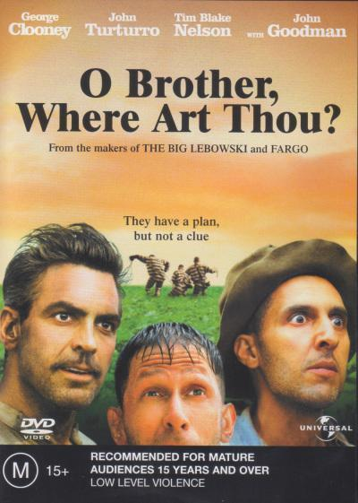 O Brother, Where Art Thou? on DVD