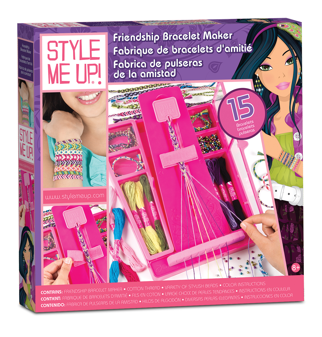 Style Me Up Friendship Bracelet Maker Images At Mighty Ape Nz