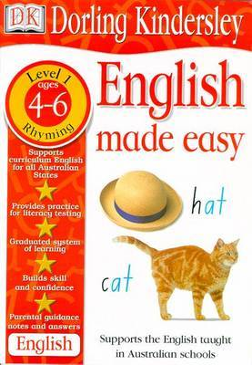 English Made Easy Level 1: Early Rhyming by Dorling Kindersley