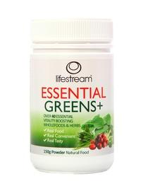 Lifestream Essential Greens+ Powder - 150g