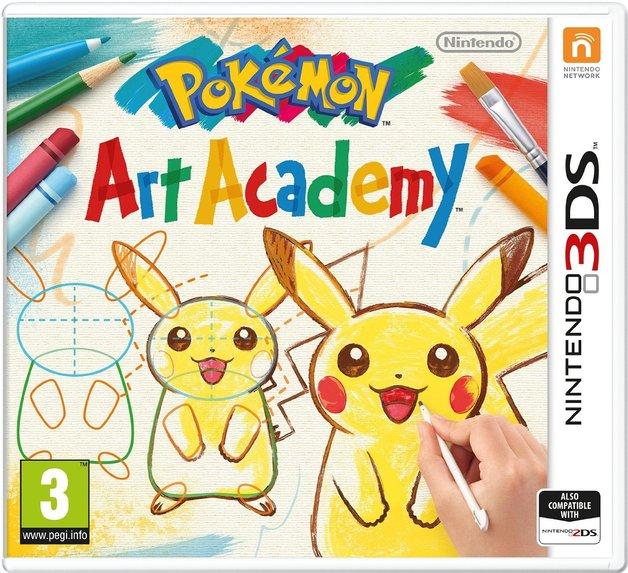 Pokemon Art Academy for 3DS
