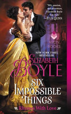 Six Impossible Things by Elizabeth Boyle image