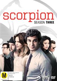 Scorpion - Season Three on DVD image
