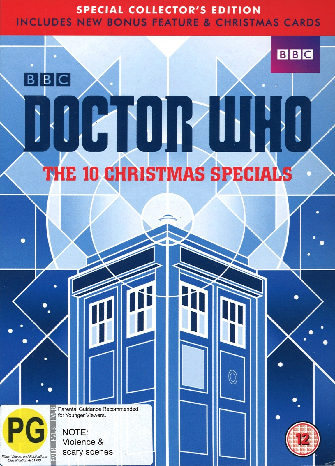 Doctor Who Christmas Cards.Doctor Who The 10 Christmas Specials Special Collectors Edition