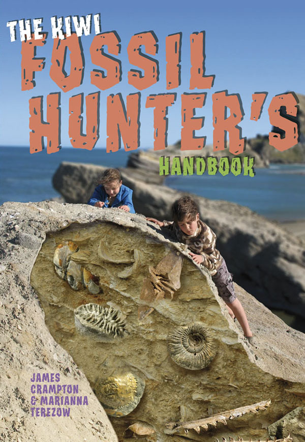 The Kiwi Fossil Hunter's Handbook by James Crampton image