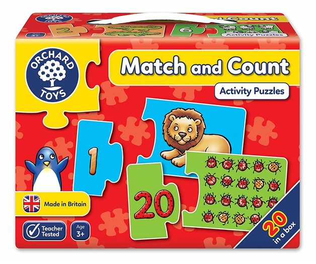 Orchard Toys: Match And Count - Jigsaw Game