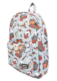 Loungefly: Harry Potter - Relics Tattoo Print Backpack image