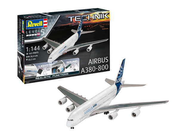 Revell: Airbus A380-800 Technik - 1:144 Scale Model Kit