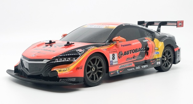 Rusco: 1:18 Scale Super GT Race Car - Honda (Orange)