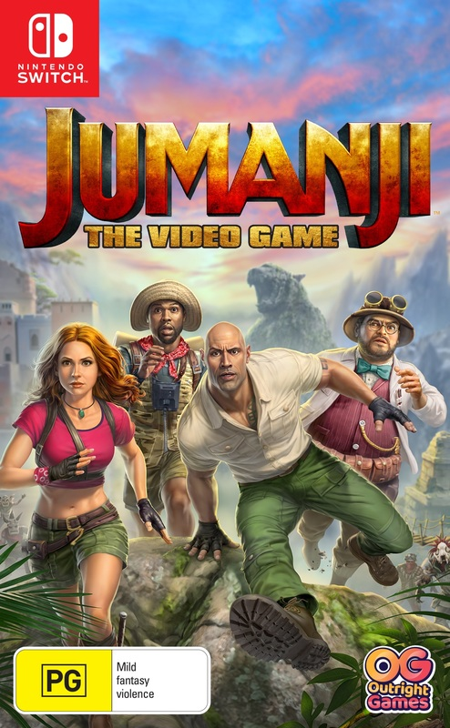 Jumanji: The Video Game for Switch