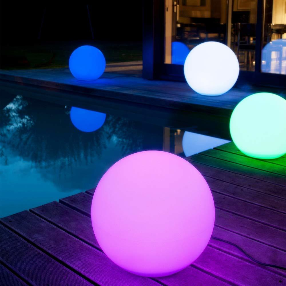 Ape Basics: Multi-Coloured Ball Light Ball with Smart Remote image
