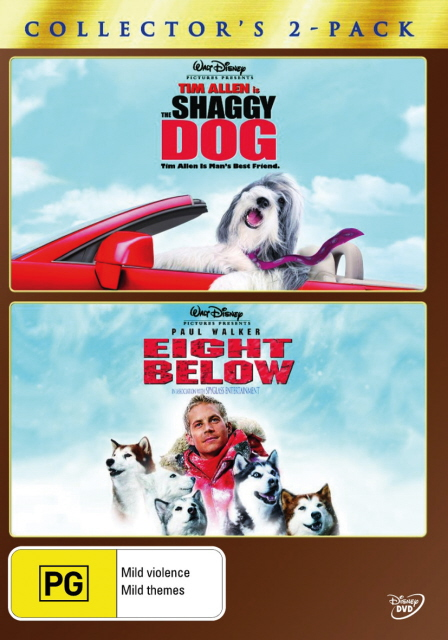 Shaggy Dog, The (2006) / Eight Below - Collector's 2-Pack (2 Disc Set) on DVD image