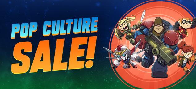 Pop Culture Sale!