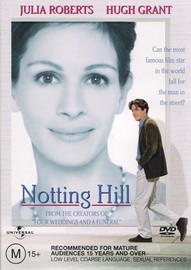 Notting Hill on DVD image