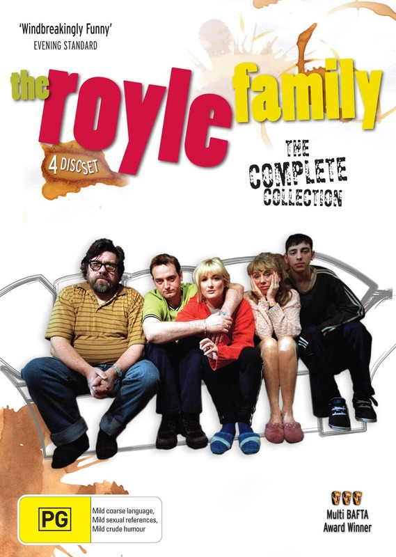 The Royle Family - The Complete Collection (4 Disc Set) on DVD