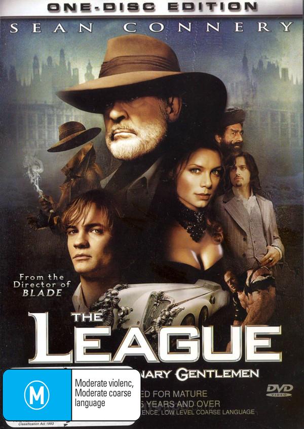 The League Of Extraordinary Gentlemen on DVD image