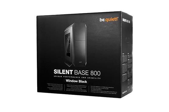 Be Quiet! Silent Base 800 Windowed - Black image