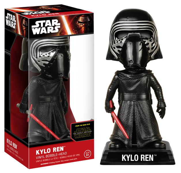 Star Wars: Kylo Ren (Unhooded) Wacky Wobbler Bobble Head