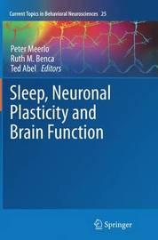 Sleep, Neuronal Plasticity and Brain Function image
