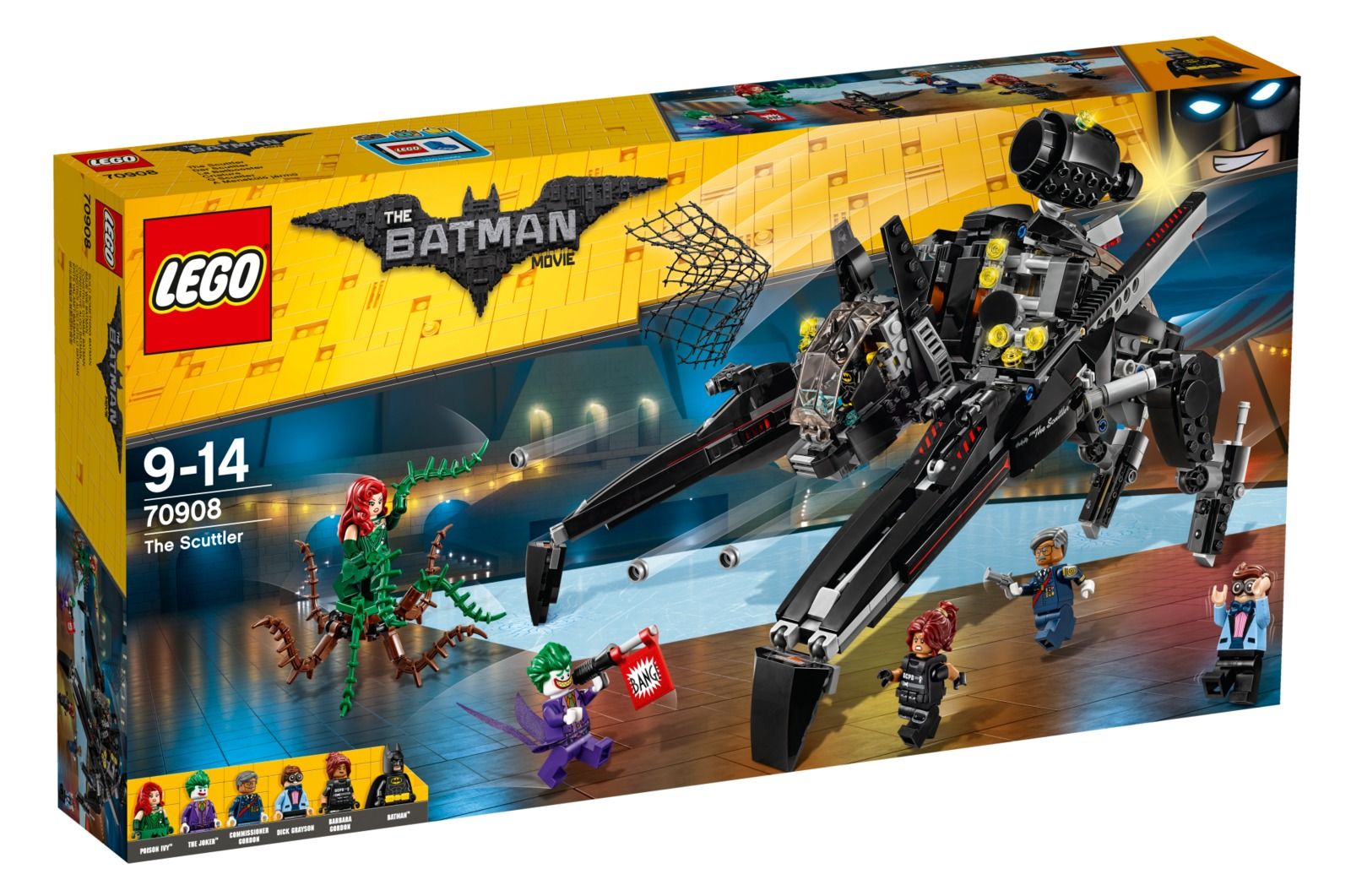LEGO Batman Movie: The Scuttler (70908) image