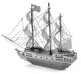 Metal Earth: Black Pearl Pirate Ship - Model Kit