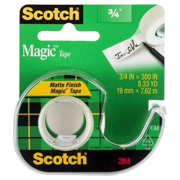 Scotch Magic Tape Dispenser (19mm x 7.62m)
