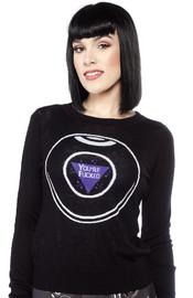Sourpuss 8 Ball Sweater (X-Large)