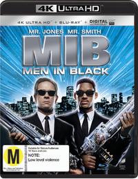Men In Black on UHD Blu-ray