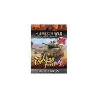 Flames of War: Fighting First Unit Cards (Ltd Run)