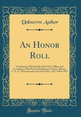 An Honor Roll by Unknown Author
