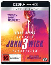 John Wick: Chapter 3 - Parabellum on UHD Blu-ray