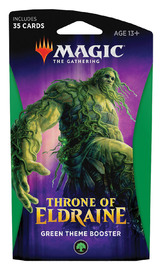 Magic The Gathering: Throne of Eldraine Green Theme Booster image