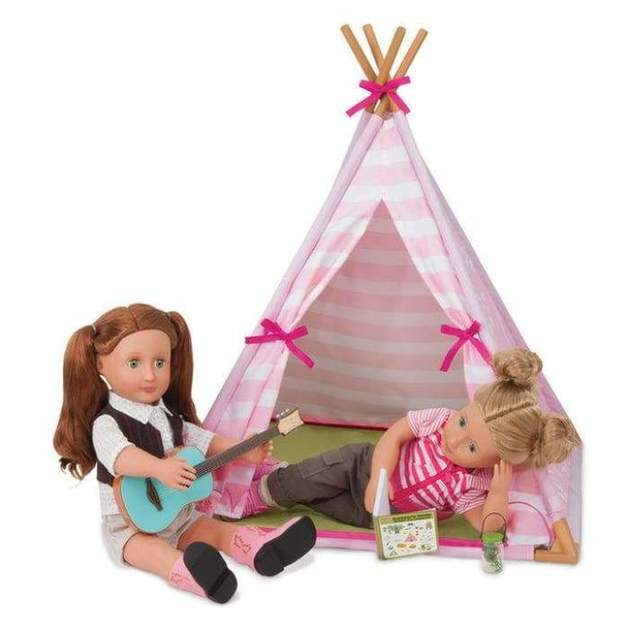 Our Generation: Mini Suite - Doll Teepee